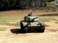 牛人自制M60A3坦克