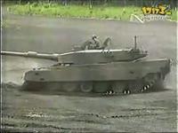 日本90式主战坦克