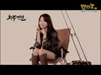 韩美女朴河宣《清风明月》接受采访视频
