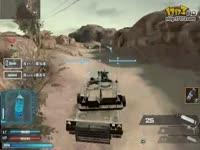 逆战坦克模式 疯狂的坦克 视频展示