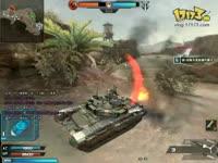 逆战坦克模式,攻城战 坦克偷家视频展示