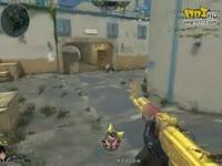 逆战黄金AK个人竞技 禽兽也有AK了!