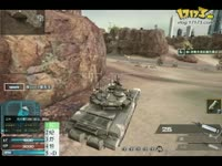 逆战T90咆哮的狂狮 坦克模式初体验视频