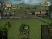 坦克世界8.0测试服T-54新炮D-10T2C展示
