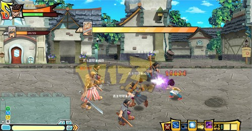 街头战士,网页游戏,动作页游,2D横版,RPG动作页游《街头战士》最新图片