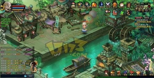 在《胡莱西游》里玩家可以调配伙伴,安排技能,不同的组合都战局有图片