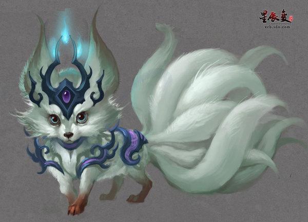 包括超级珍稀的灵兽九尾灵狐和三尾白狐坐骑,让你享受驾纯情白狐,推