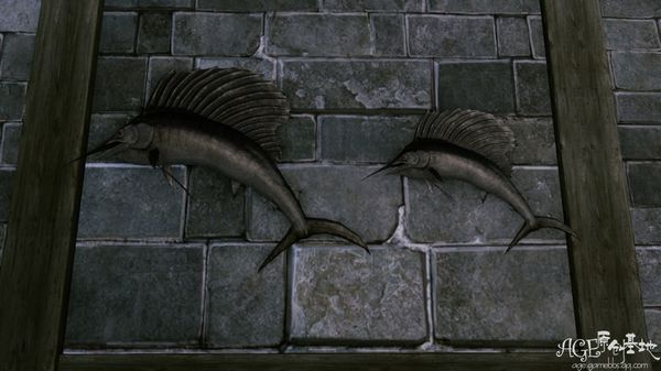 上古世纪鱼类标本制作