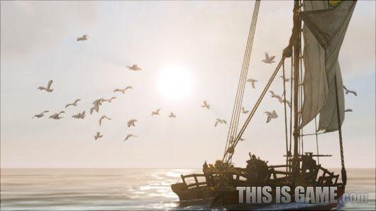 在捕鱼的时候,你可以经常看到这样的画面
