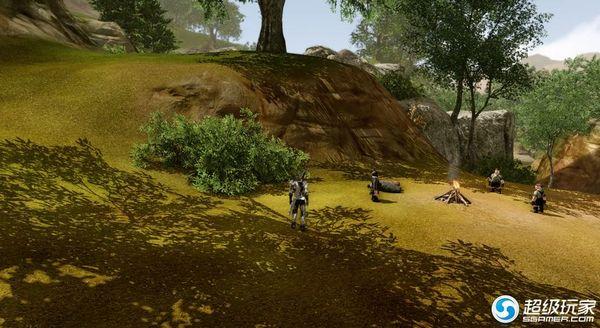 碎石平原的矮人营地