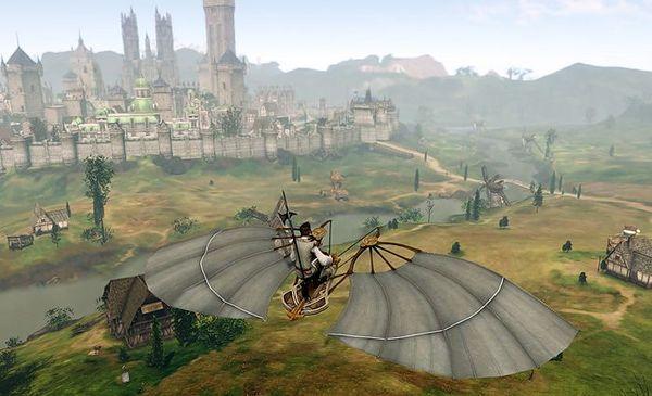 上古世纪滑翔翼