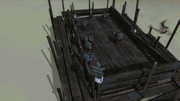 上古世纪国服首测第一栋150贸易币豪宅建造过程