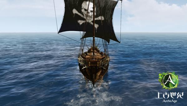 黑珍珠号扬帆出发