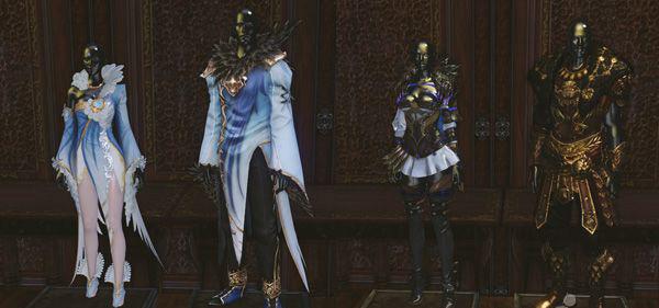 ▲ (左) 镜子王宫的白色女王:斯诺凯特,(右) 凌厉的红狼:洛豪