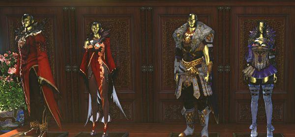 ▲ (左) 镜子王国的红色女王:凯蒂,(右) 皇帝近卫队:普拉托利亚尼