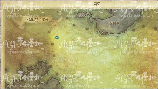 海盗岛,咆哮岛屿的正确位置(寂静之海的西北面)