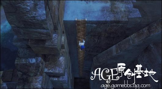 登陆海盗岛可以看见有座很明显的高塔,沿着木梯爬上去