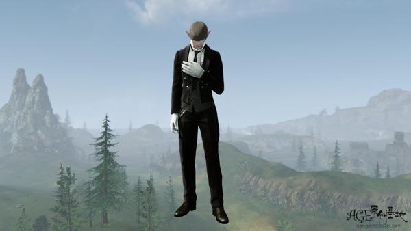 是不是很绅士?