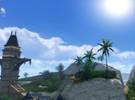 《上古世纪》精美风景截图 长沙滩的一角