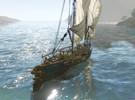 �P帆起航,�向大海 上古世�o唯美海上夜景