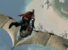 《上古世�o》玩家截�D:我的船�K于下海了