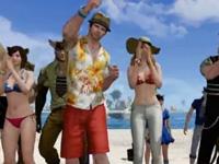 沙滩狂欢派对 堪称上古版海天盛筵