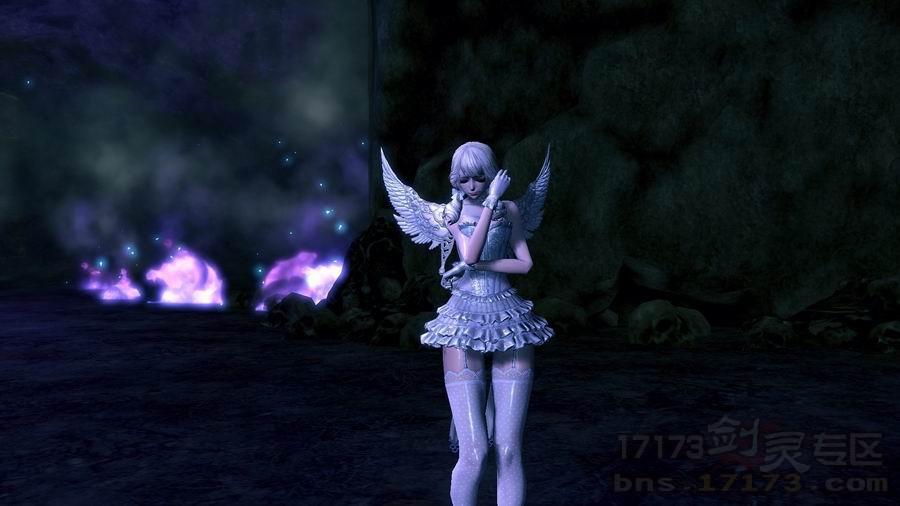 双马尾天族天使时装赏