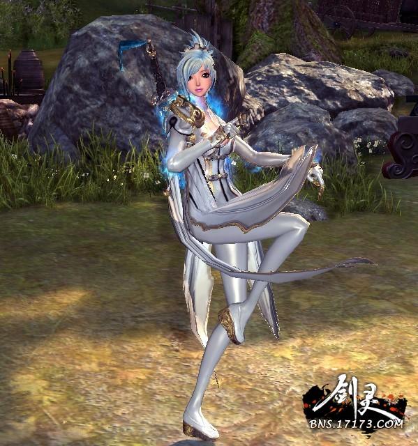 劍靈刺客銀蛇時裝_劍靈2.0銀蛇時裝_劍靈銀蛇時裝_劍靈銀蛇時裝怎么獲得,劍靈銀蛇時裝