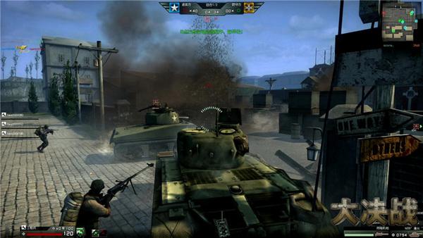 闪电战射杀敌方坦克乘员
