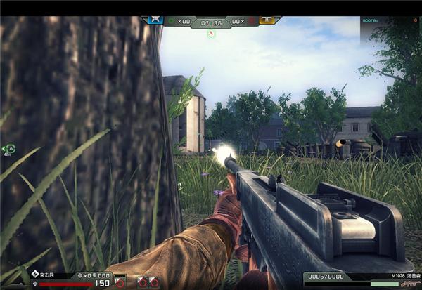 《大决战》真实还原的汤普森冲锋枪