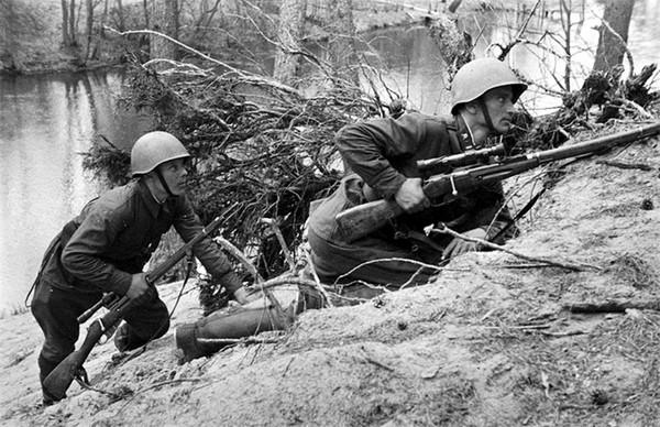 二战中使用莫辛纳甘的狙击手