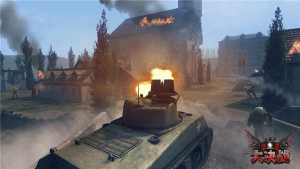 步坦协同开启FPS全新玩法