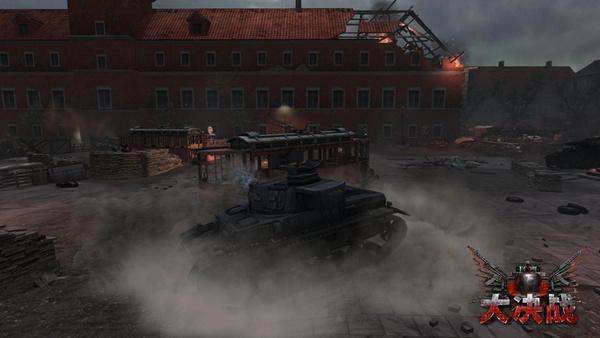 华沙城中的德军坦克