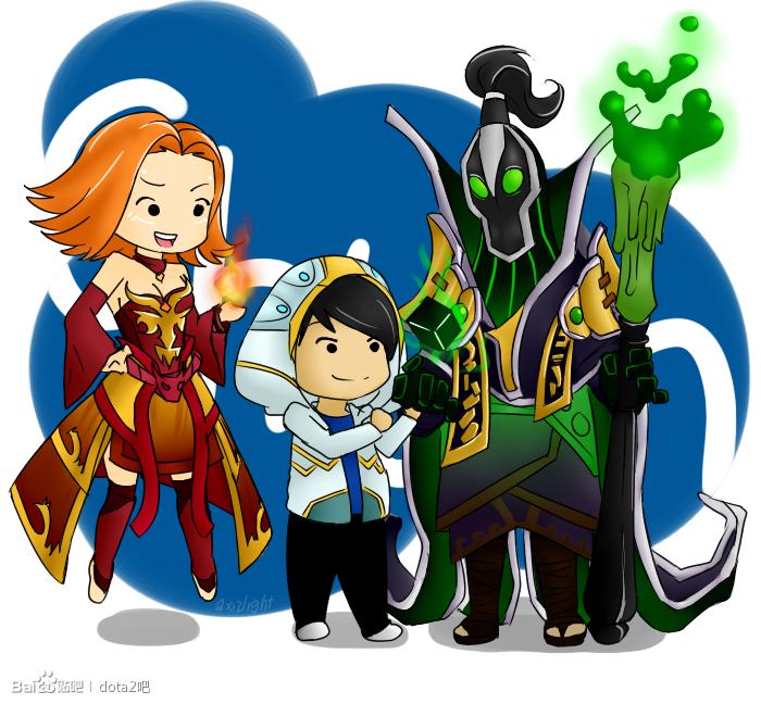 梦妮官网_玩家原创漫画:IG队员各自喜爱的英雄__DotA2.17173.com专题站