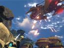 火瀑Firefall正在遭受神选攻击的主城