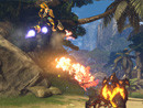 火瀑Firefall与怪物进行生死决斗