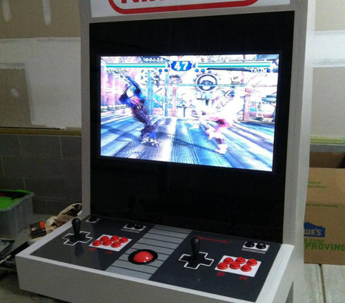 复古NES风大型机台筐体
