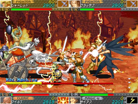 经典街机神作《地狱神龙》HD版回来了
