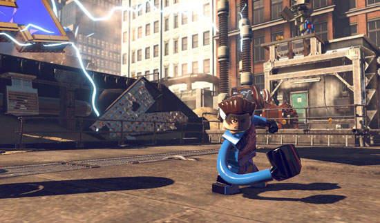 《乐高:惊奇超级英雄》雷神前进阿斯嘉捉拿萌弟洛基