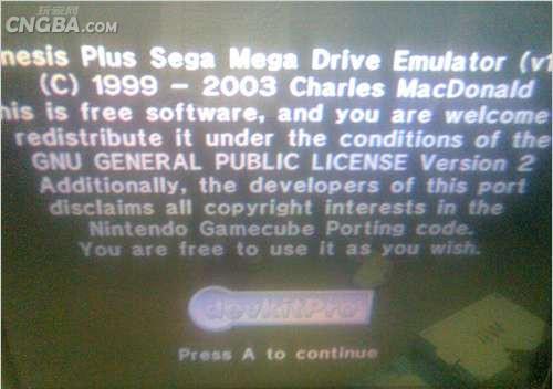Wiiu Com Game : Wii用md模拟器genesis plus下载及使用教程 单机站 中国游戏第一门户站