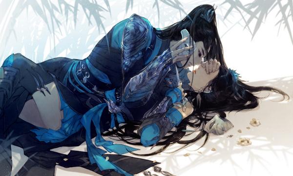 伊吹手绘作品赏:剑网3内部消化的唐门