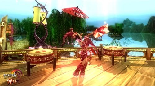 七秀舞剑名动四方图片