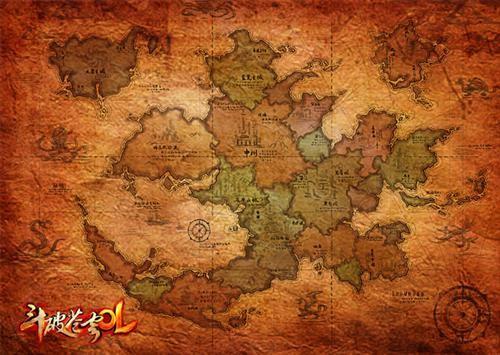 大陆地图首度公开