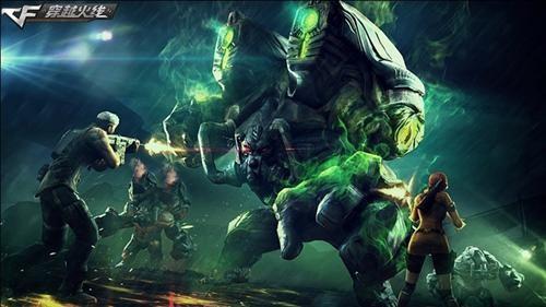 Cf《再战巨人城》将登场 多款武器精彩亮相