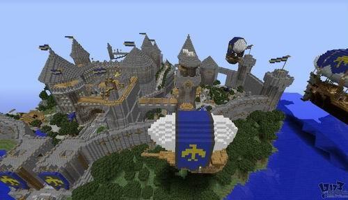 我的世界城堡建设图; 我的世界建筑图纸
