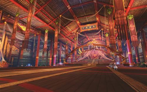 新闻中心 寻龙 正文  信步走到翠罗宫殿外,两只金色凤凰屹立于两旁