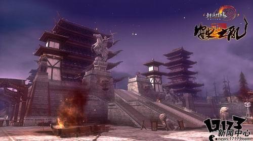 《剑网3》新版:天策未被灭门 加入全新技能_网络游戏