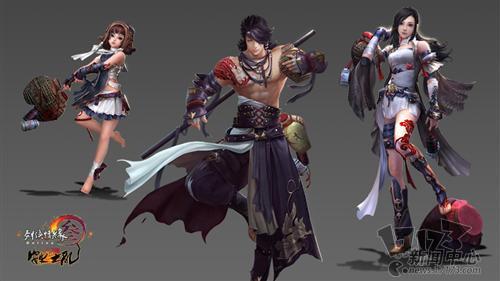 剑网3安史之乱图片