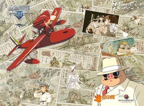 由于身体不好,不擅长运动,宫崎骏对静态的绘画很有天分,特别对于飞机