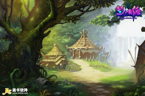 部落探险半张地图